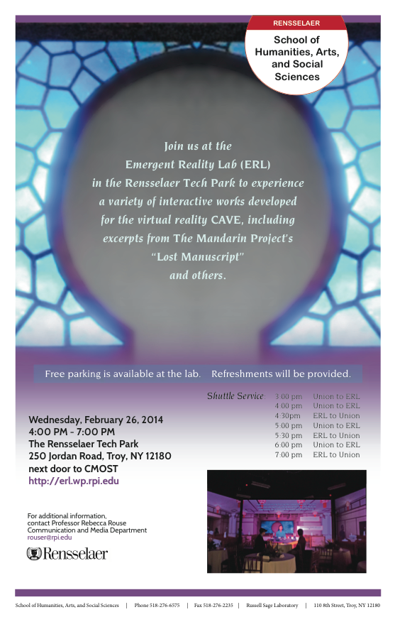 ERL Open House - 2.26.14